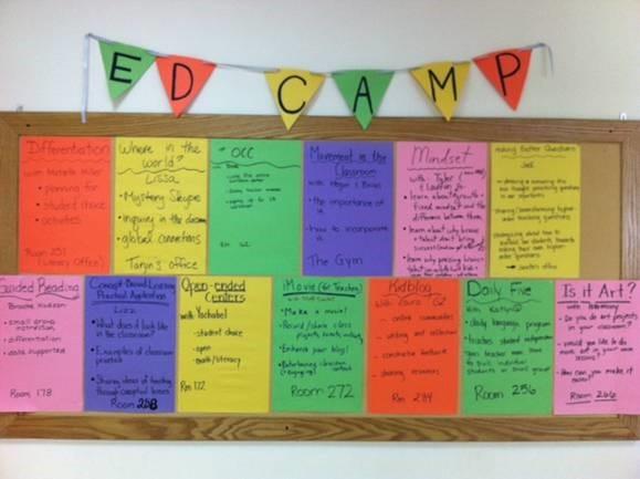 EdCamp Wall